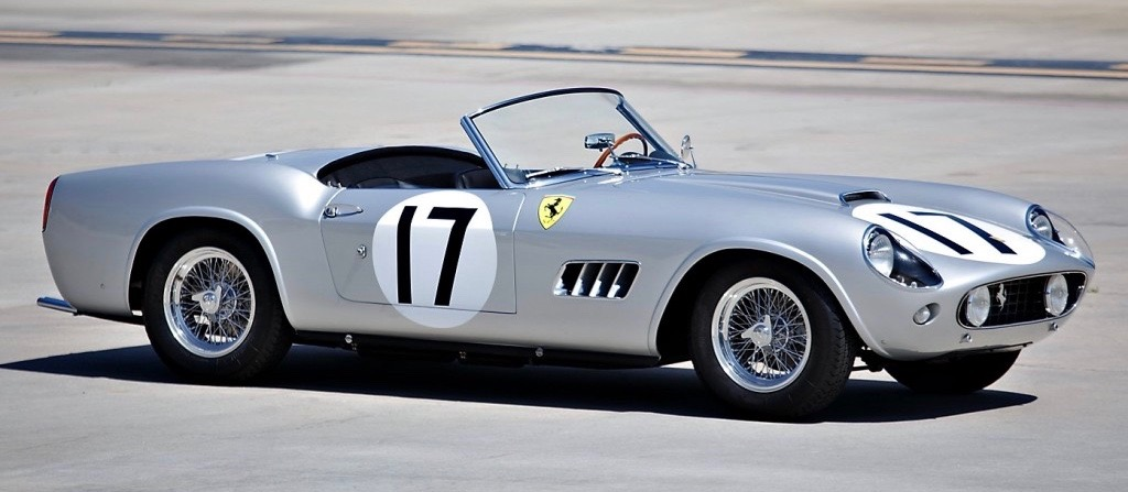 1959 Ferrari 250 California Spider on Gooding & Co. docket | Gooding & Co. photo