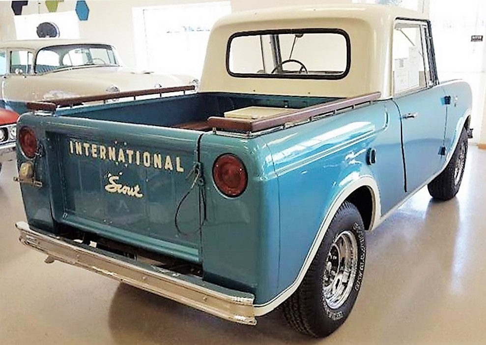 1964 International Scout Pickup Classiccars Com Journal