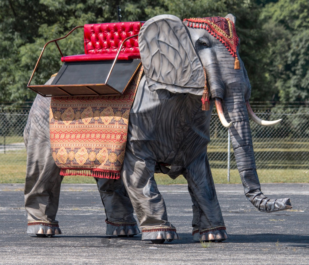 Wendell is an elephant-sized cybernetic animal | Auctions America photos
