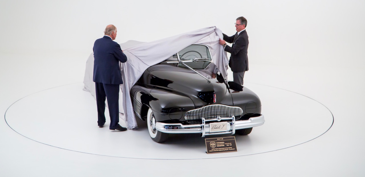 The official unveiling for car's inclusion National Historic Vehicle Register.