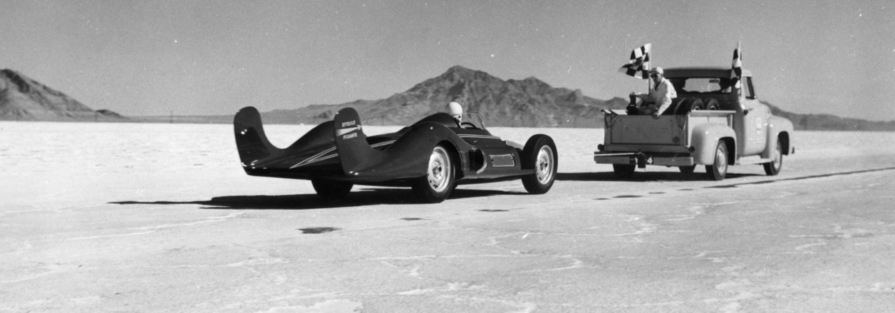 The way it was 50 years ago when Renault brought the turbine-powered 'Shooting Star' to Bonneville | Renault Classic photos