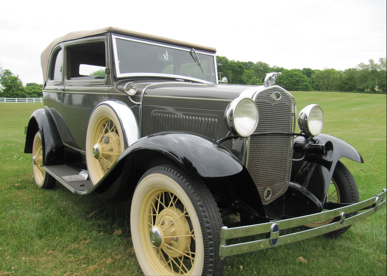 Sale of 1931 Ford Model A-400 will benefit CCCA Museum | Leake Auction photos