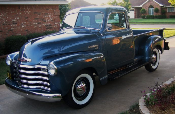 My Classic Car: Ken's 1950 Chevrolet 3100 Deluxe pickup