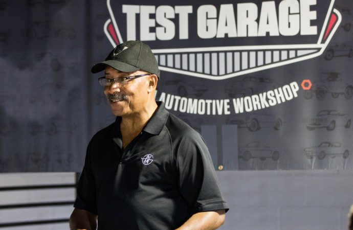 Hagerty hosts future designers at 'test garage' debut