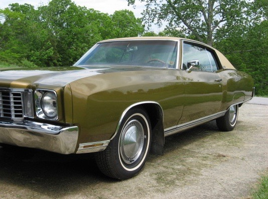 My Classic Car: Mom and Gregory's 1972 Chevrolet Monte Carlo