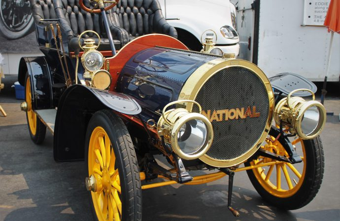 Preserving the past: Blain Foundation cars racing at Laguna Seca