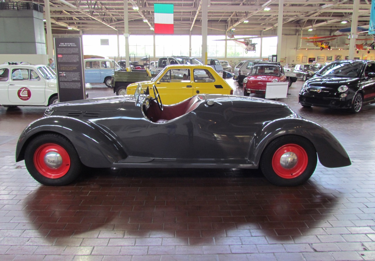 1939 Fiat 508C Ballia 1100 is centerpiece of Macchinne Italiane at the Lane