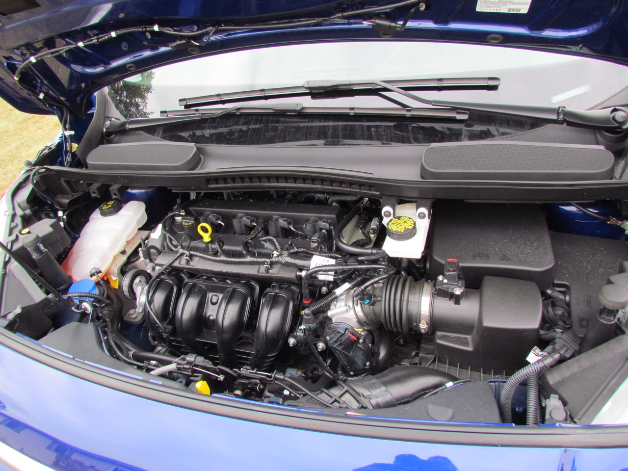 Four-cylinder engine has spunky performance