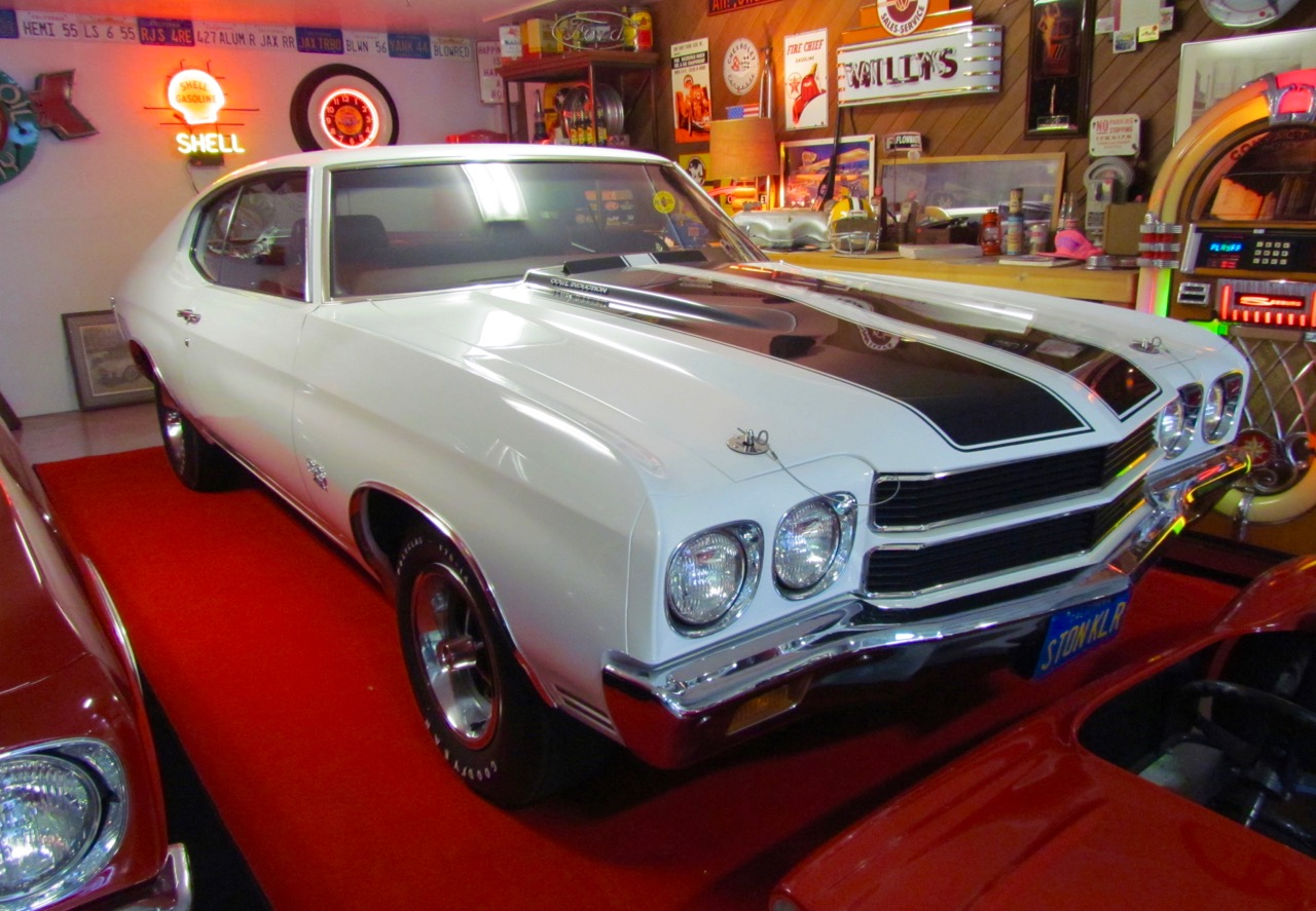 This Chevelle was Jackson's daily driver to the ball park