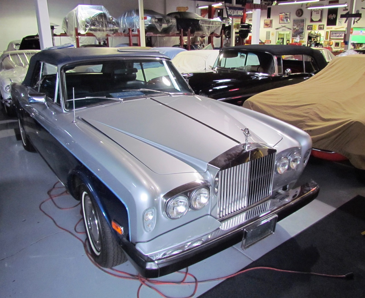 Jackson drove across the country in this Rolls-Royce