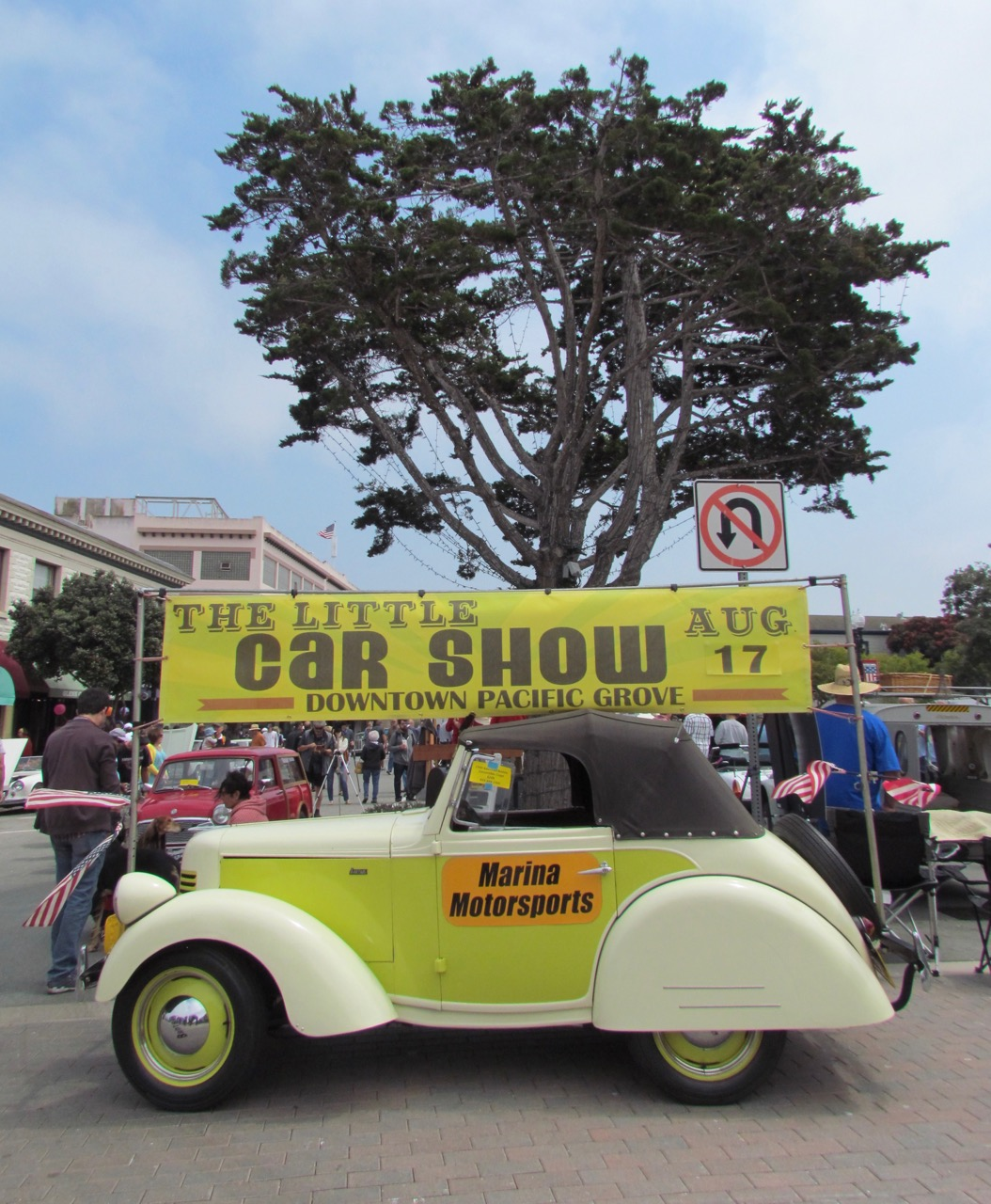 The 7th annual Little Car Show was held in downtown Pacific Grove | Larry Edsall photos