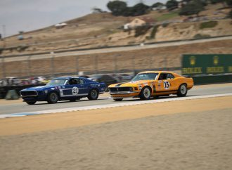 Seven cars from historic race reunite at Rolex Reunion
