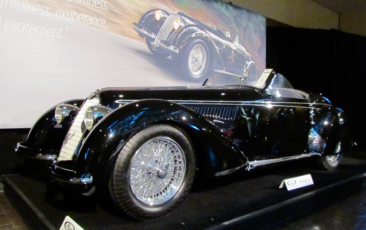 1939 Alfa Romeo 8C 2900B sets world record for auction price for prewar car | Larry Edsall photos