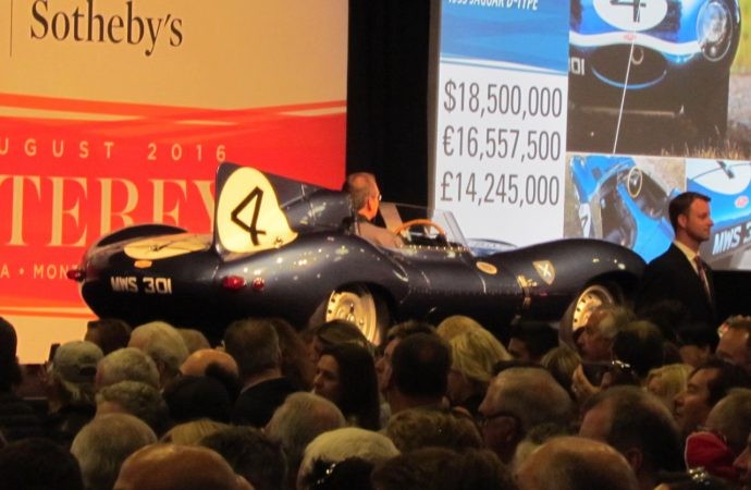 Auction records fall for British and American cars
