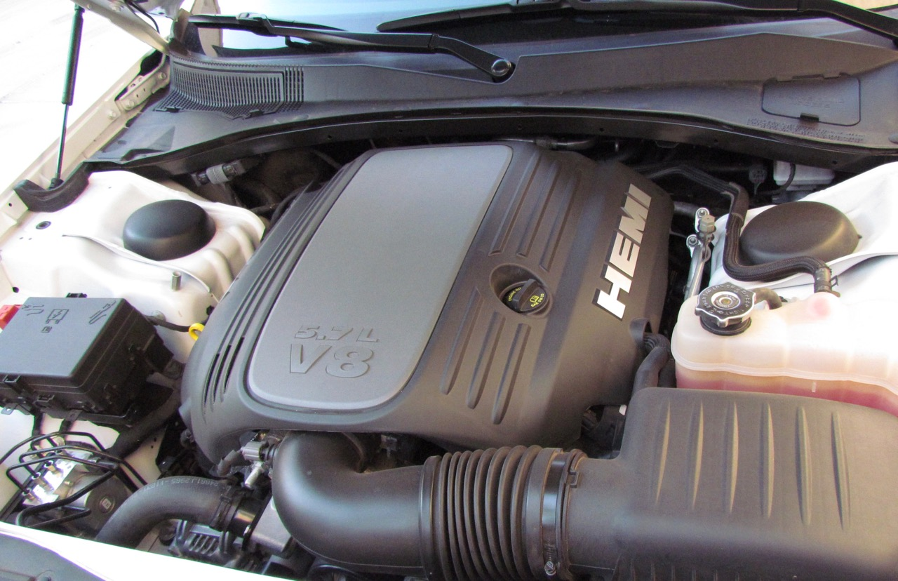Yep, there's a Hemi under the hood
