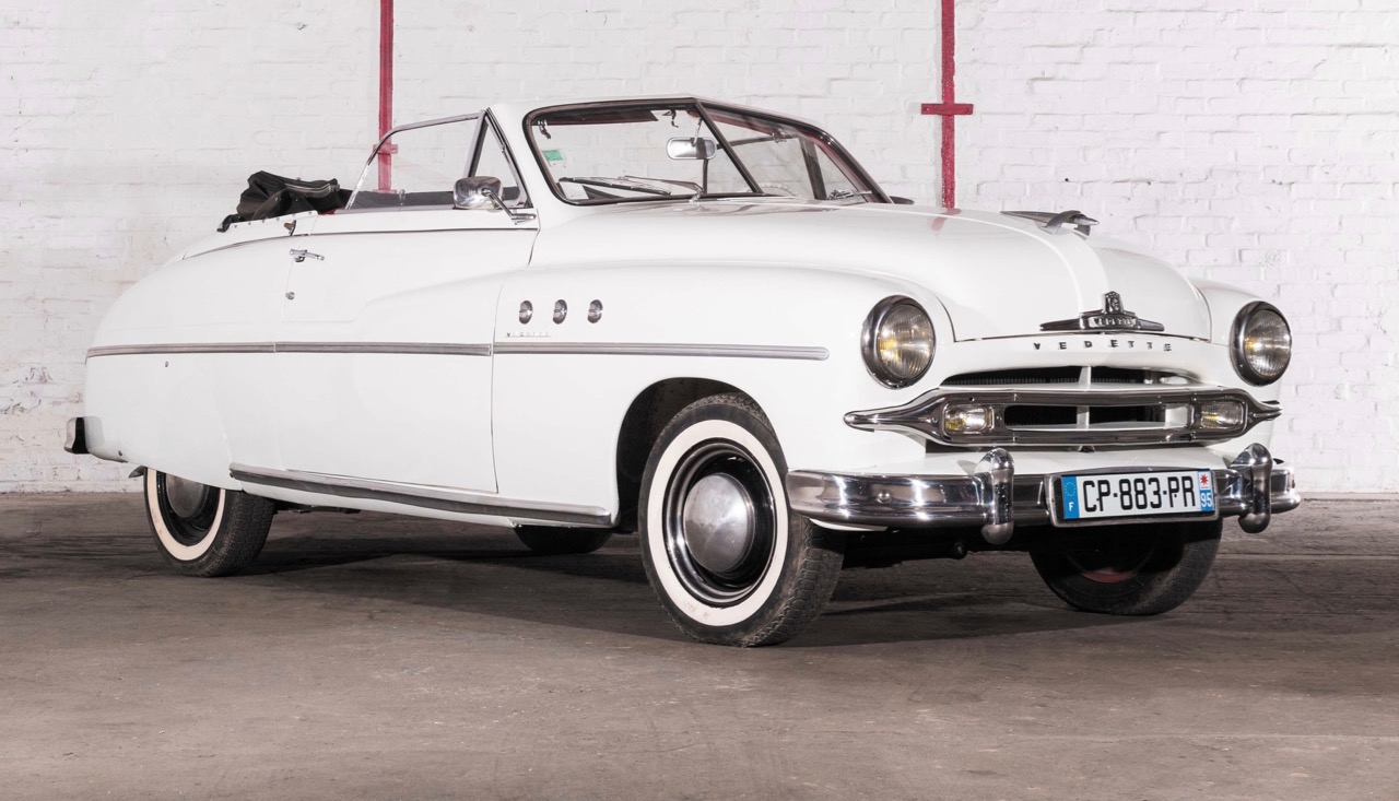 1952 Ford Vedette convertible