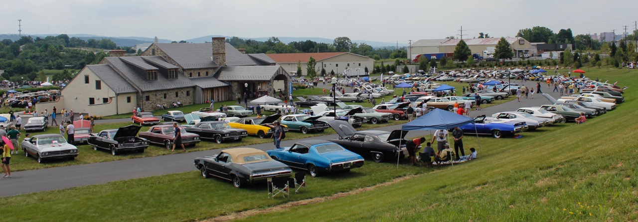 Just a section of the scene at the Buick Club of America's 50th anniversary Buick Nationals | Jed Rapoport photos