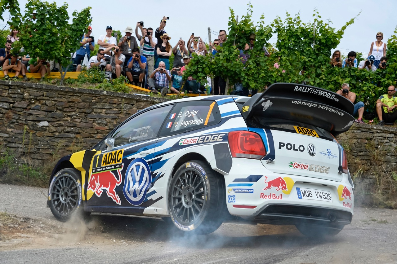 Volkswagen Polo R on the World Rally Championship circuit