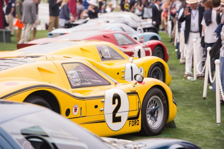 Would you risk your historic GT40 in a 2-race series?