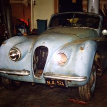My Classic Car: John's Dad's 1954 Jaguar XK120