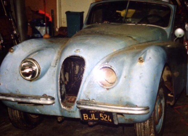 My Classic Car: John's Dad's 1954 Jaguar XK120