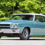 A 1970 Chevrolet Chevelle SS454 LS6 convertible leads the stars in Louisville | Mecum Auctions photos