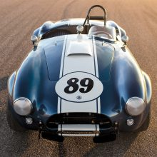 Road-racing star Don Roberts and 'The Winningest Cobra' readied for RM Sotheby's auction in Monterey