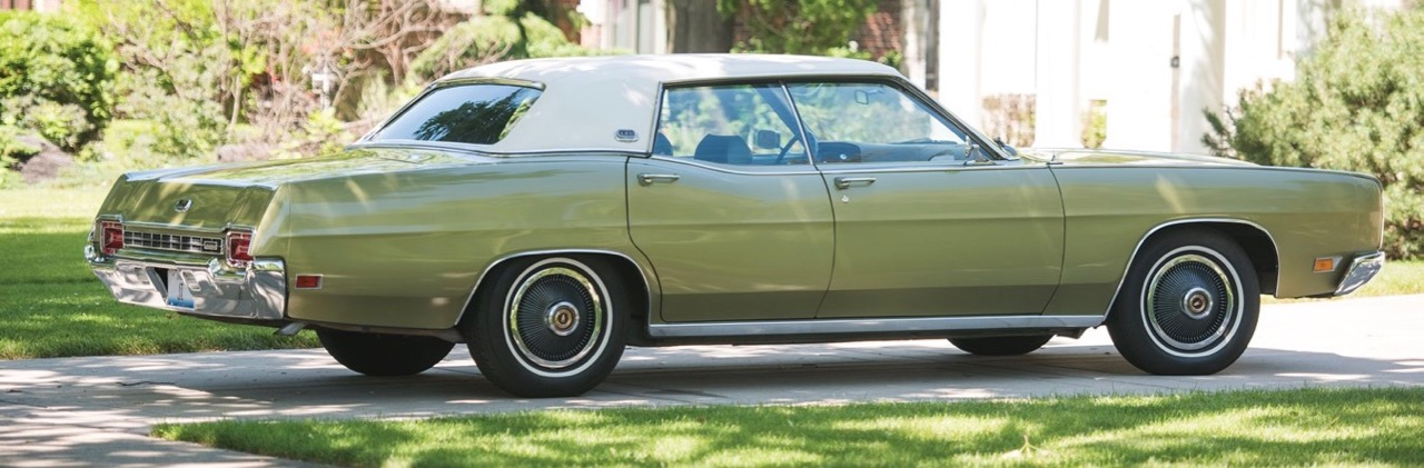 First car up for bidding at RM Sotheby's Motor City auction will be this 1970 LTD | RM Sotheby's photo