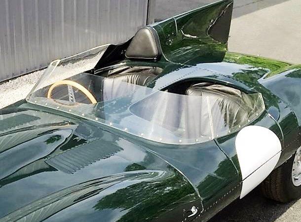 1955 Jaguar D-type replica