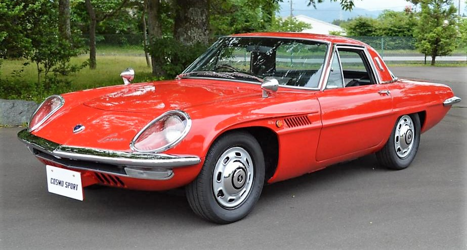 A 1967 Mazda Cosmo Sport will be offered at the Gooding auction at Pebble Beach | Gooding & Company