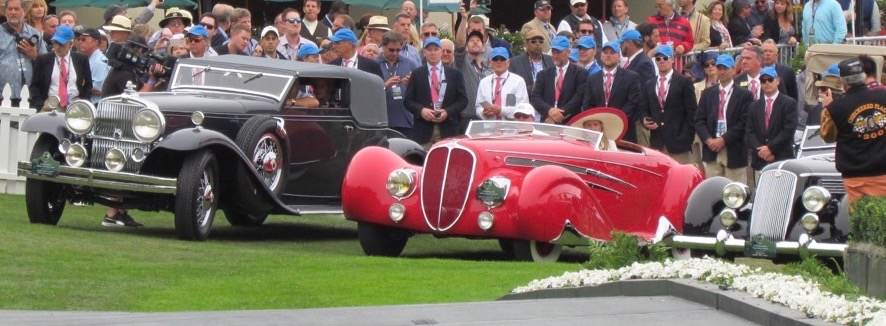 Stutz and Delahaye were the other contenders for Best of Show honor