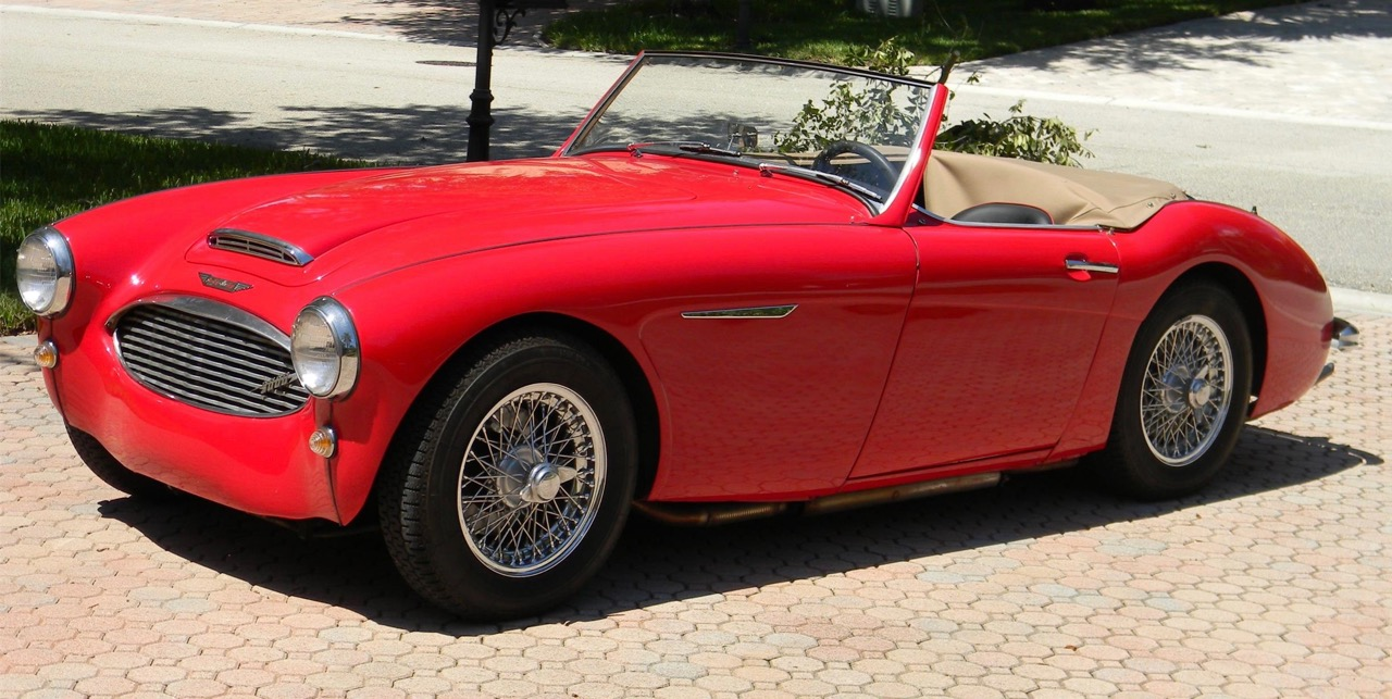 Austin-Healey 3000 has had same owner since 1973 and has been completely restored