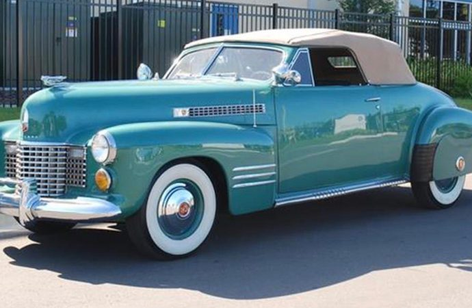 At age 75, a celebration for the 1941 Cadillac