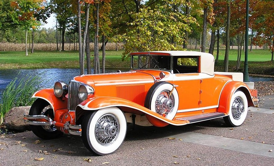 This 1930 Cord L-29 cabriolet was once owned by the Frank Lloyd Wright Foundation and is on display in the Gallery of Special Interest Automobiles