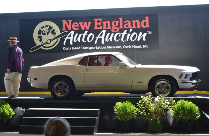 Stagecoach tops New England Auto Auction