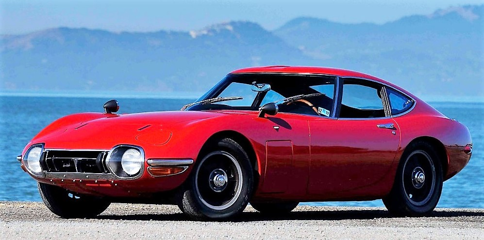 The Toyota 2000GT had a meteoric rise but is now falling back | Mecum Auctions
