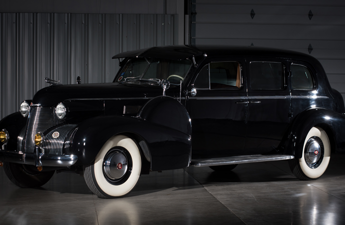 Countdown to Barrett-Jackson Las Vegas 2016: 1939 Cadillac Fleetwood Series 75 touring sedan