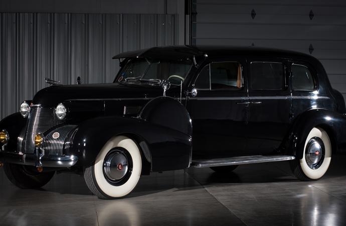 Countdown to Barrett-Jackson Las Vegas 2016: 1939 Cadillac Fleetwood Series 75 touring sedan