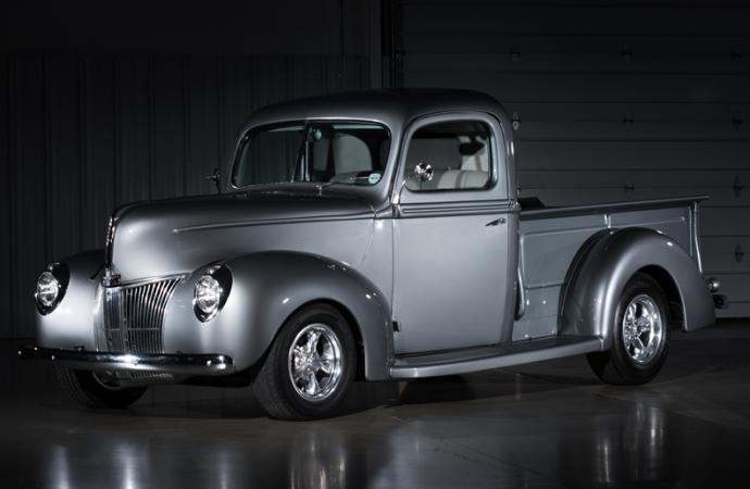 Countdown to Barrett-Jackson Las Vegas 2016: 1941 Ford 'Gray Ghost' custom pickup