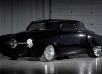Countdown to Barrett-Jackson Las Vegas 2016: 1947 'Black Bart' Studebaker Starlight coupe