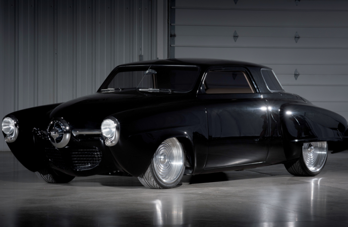 Countdown to Barrett-Jackson Las Vegas 2016: 1947 'Black Bart' Studebaker Starlight coupe