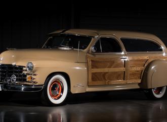 Countdown to Barrett-Jackson Las Vegas 2016: 1947 Cadillac custom Woody Station Wagon