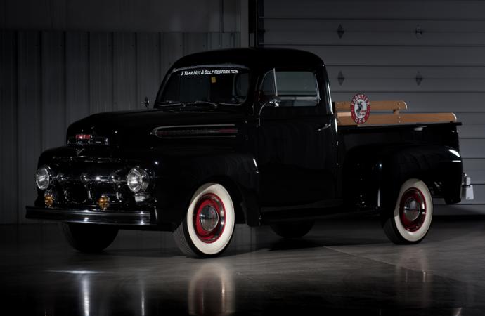 Countdown to Barrett-Jackson Las Vegas 2016: 1951 Ford F1 Pickup