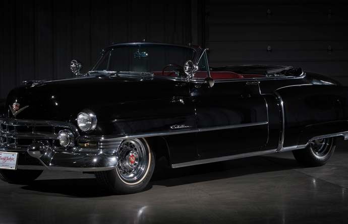 Countdown to Barrett-Jackson Las Vegas 2016: 1952 Cadillac Series 62 convertible