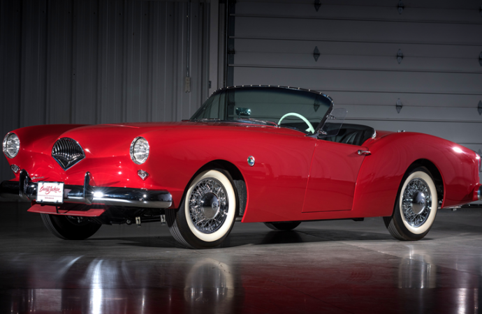 Countdown to Barrett-Jackson Las Vegas 2016: 1954 Kaiser Darrin supercharged convertible