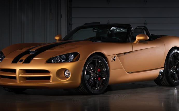 Countdown to Barrett-Jackson Las Vegas 2016: 2008 Dodge Viper SRT/10 Hurst 50th anniversary convertible