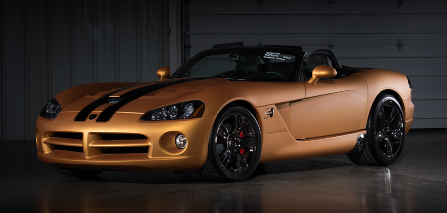 Countdown To Barrett Jackson Las Vegas 2016: 2008 Dodge Viper SRT/10 Hurst  50th Anniversary Convertible