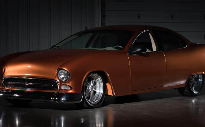 Countdown to Barrett-Jackson Las Vegas 2016: 1955 Chevrolet 'The Retrolet' custom coupe