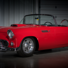 Countdown to Barrett-Jackson Las Vegas 2016: 1955 Ford Thunderbird custom convertible