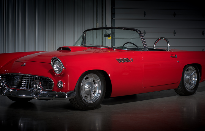 Countdown to Barrett-Jackson Las Vegas 2016: 1955 Ford Thunderbird custom convertible